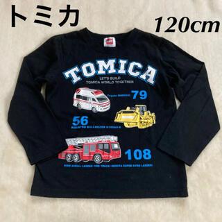 TOMMY - tomica トミカ 働く車 キッズ 男の子 長袖Tシャツ