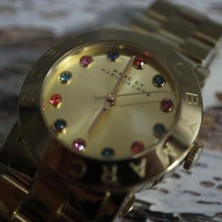 マークバイマークジェイコブス(MARC BY MARC JACOBS)の【稼働品】マークバイマークジェイコブス 腕時計 レディース クォーツ(腕時計)