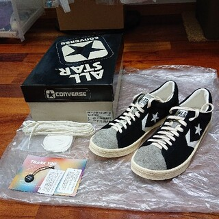 CONVERSE - CONVERSE PRO LEATHER VTG SUEDE OX プロ レザー