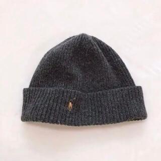 ポロラルフローレン(POLO RALPH LAUREN)の未使用に近い Polo Ralph Lauren ニット帽 ニットキャップ(ニット帽/ビーニー)