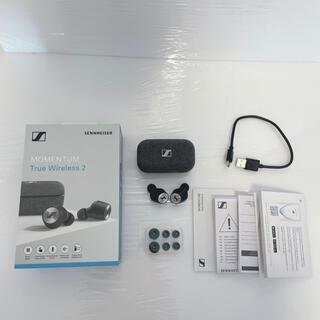 ゼンハイザー(SENNHEISER)のMOMENTUM True Wireless 2 M3IETW2 BLACK(ヘッドフォン/イヤフォン)