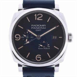 パネライ(PANERAI)のパネライ ラジオミール SS×ラバー   メンズ 腕時計(腕時計(アナログ))