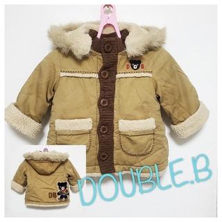 ダブルビー(DOUBLE.B)の【80】ダブルビー コート ジャンパー アウター(ジャケット/コート)