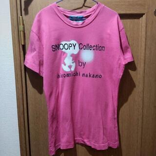 スヌーピー(SNOOPY)のピーナッツ スヌーピーのTシャツ サイズM <a083>(Tシャツ(半袖/袖なし))