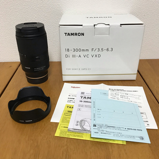 TAMRON - [美品] TAMRON 18-300mm B061 ソニーEマウント用