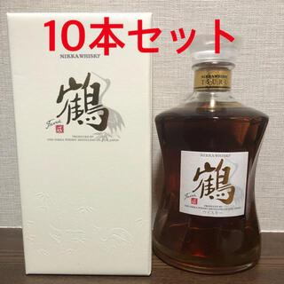 ニッカウヰスキー - NIKKA/ニッカウイスキー  鶴700ml×10本 蒸溜所限定販売品