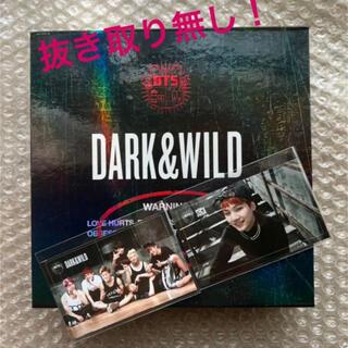 防弾少年団(BTS) - 【公式】BTS DARK & WILD アルバム (CD +トレカ2枚)