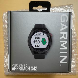 GARMIN - 【新品未使用品】GARMIN ガーミンApproach S42 Black
