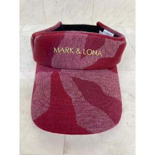 マークアンドロナ(MARK&LONA)のマークアンドロナ ゴルフバイザー(ウエア)