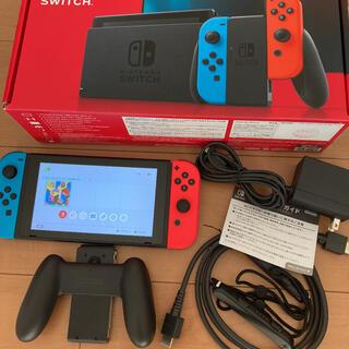Nintendo Switch - Nintendo Switch JOY-CON(L)(R)中古 本体セット動作品