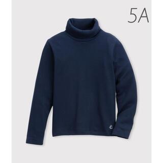 PETIT BATEAU - 新品未使用  プチバトー  タートルネック  長袖  Tシャツ  5ans
