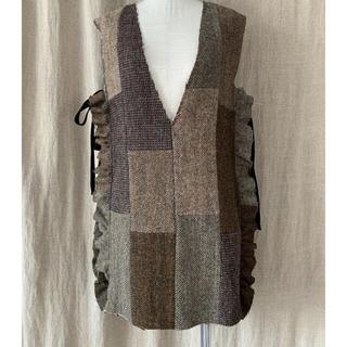 EDIT.FOR LULU - malion vintage tweed vest マリオン ツイード ベスト