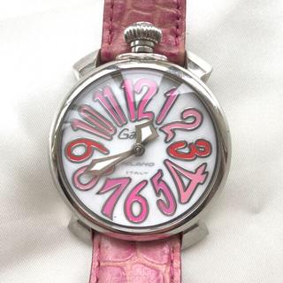 GaGa MILANO - ガガミラノ レディース ピンク レディース腕時計