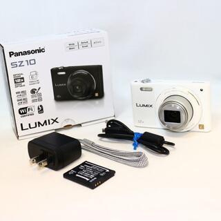 Panasonic - ★極上美品★ Panasonic DMC-SZ10 ホワイト