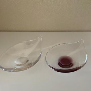 Sghr - スガハラガラス しずく鉢 2個セット