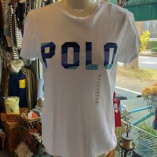 ポロラルフローレン(POLO RALPH LAUREN)のPOLORALPHLAUREN ビズーTシャツ XS 新品(タグ付き)(Tシャツ(半袖/袖なし))