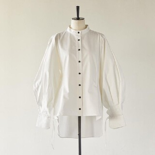 新品 Riko  ランタンスリーブジャケットシャツ