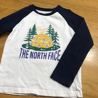 THE NORTH FACE - ノースフェイス 長袖Tシャツ 120㎝