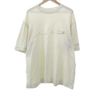 Y-3 - ワイスリー 20SS ディズトレスド シグネチャー Tシャツ M エクリュ