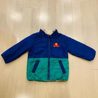 ミキハウス(mikihouse)の子供服サイズ80 ミキハウス ジャケット リバーシブル フードなし(ジャケット/コート)