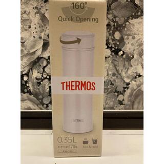 サーモス(THERMOS)のNO:18 サーモス 水筒 ケータイマグ 350ml  JOG-350 ホワイト(水筒)