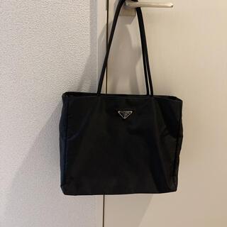 PRADA - 【美品】プラダ PRADA ギャランティーカード 白タグ ブラック トートバッグ