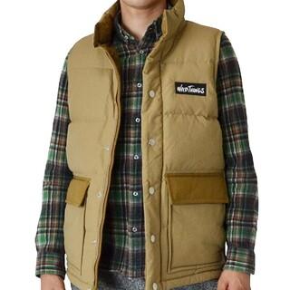 ワイルドシングス(WILDTHINGS)の定価25,300円 size M WILDTHINGS down vest(ダウンベスト)