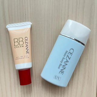 CEZANNE(セザンヌ化粧品) - 【2個セット】セザンヌBBクリーム02、皮脂テカリ防止下地