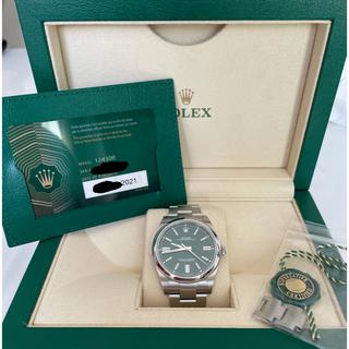 ROLEX - ロレックス オイスターパーペチュアル 41 グリーン オイパペ