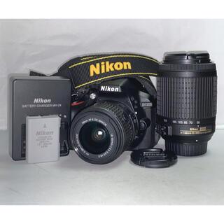 Nikon - 美品 Nikon D5300 ダブルズームレンズキット 18-55 55-200