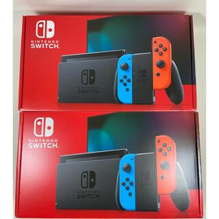 Nintendo Switch - 【新品】Nintendo Switch ネオン 2台