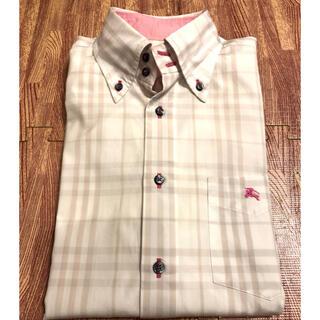 BURBERRY BLACK LABEL - バーバリー チェックシャツ 長袖シャツ