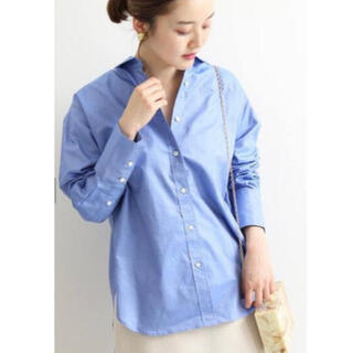 IENA - イエナ  レギュラーカラーシャツ サックス  サイズ38