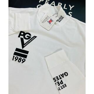 PEARLY GATES - 新品 パーリーゲイツ ベア天 ハイネック長袖シャツ LL(6)白 最新モデル