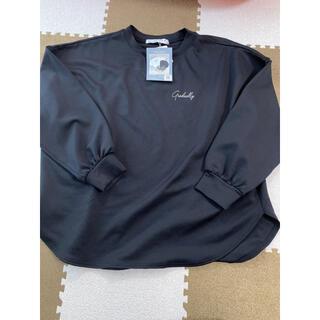 しまむら - 新品未使用 タグ付き 長袖 トレーナー 古着女子 バックロゴTシャツ
