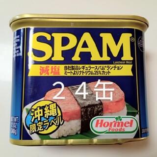スパム 減塩 340g 24缶(缶詰/瓶詰)