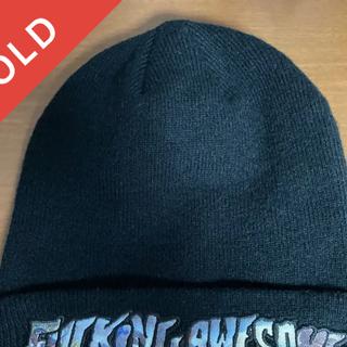 シュプリーム(Supreme)のfucking awesome   ニットキャプ ビーニー ブラック(ニット帽/ビーニー)