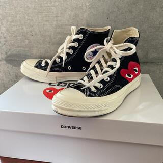 コムデギャルソン(COMME des GARCONS)のコムデギャルソン コンバース converse 1度着用品(スニーカー)