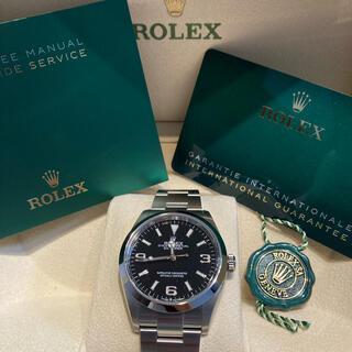 ROLEX - ROLEX EXPLORER Ⅰ 124270 21年10月ギャラ日付 未使用