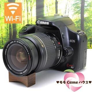 Canon - キヤノン Kiss X2☆スマホ転送OK☆入門一眼レフ♪2022