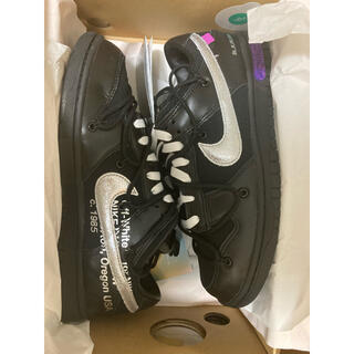 OFF-WHITE - off-white nike dunk low lot50 26.5cm
