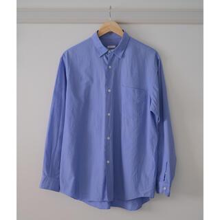コモリ(COMOLI)のCOMOLIシャツ コモリシャツ SAXサイズ2(シャツ)