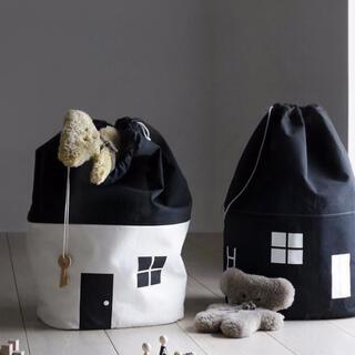 おもちゃ収納 袋 北欧 子供部屋 片付け  部屋作り インテリア