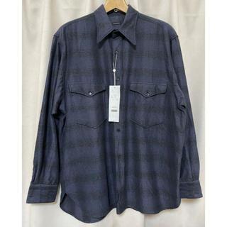 コモリ(COMOLI)のCOMOLI コモリ 21aw ウールシルク ワークシャツ 2(シャツ)