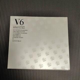 ブイシックス(V6)のV6 SUPER Very bestアニバーサリーショップ盤 曲名入り(アイドルグッズ)
