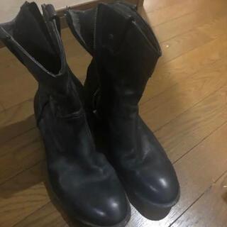 ディーゼル(DIESEL)のDIESEL ジップアップレザーブーツ(ブーツ)