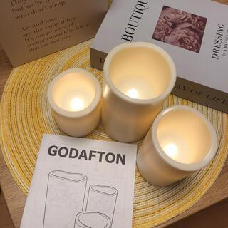 IKEA - ikea GODAFTON キャンドル ライト ウェルカムスペース