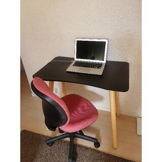 テーブル 学習机 事務机 椅子 オフィスチェア セット(学習机)