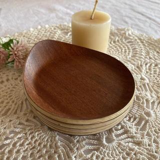 新品⭐︎木製小皿*4枚セット