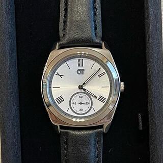 シチズン(CITIZEN)の【新品】CITIZEN 腕時計 ブラック シルバー(腕時計(アナログ))